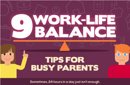 Work life balance for busy parents